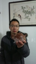 紫砂壶工艺师图片:周斌 - 宜兴紫砂壶网