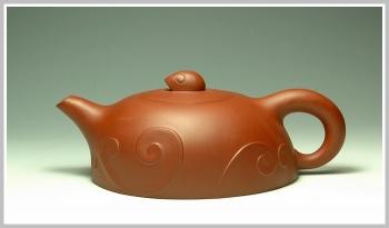 紫砂壶图片:浪花【瑕疵特价】 - 宜兴紫砂壶网