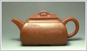 紫砂壶图片:全手工长乐壶 - 宜兴紫砂壶网