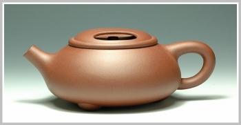 紫砂壶图片:牛盖石瓢 - 宜兴紫砂壶网