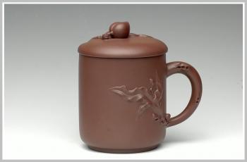 紫砂壶图片:福寿杯 - 宜兴紫砂壶网