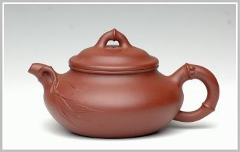 紫砂壶图片:合欢竹 - 宜兴紫砂壶网