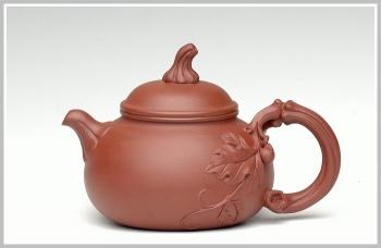 紫砂壶图片:小南瓜 - 宜兴紫砂壶网