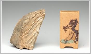 紫砂壶图片:全手雅玩之长方花盆 - 宜兴紫砂壶网