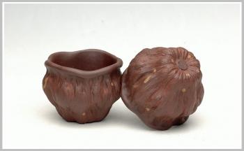 紫砂壶图片:刘景-莲蓬杯 65cc - 宜兴紫砂壶网