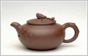 紫砂壶图片:薄胎精品花货-佛手 - 宜兴紫砂壶网