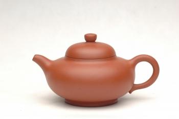 紫砂壶图片:全手朱泥小华颖 - 宜兴紫砂壶网