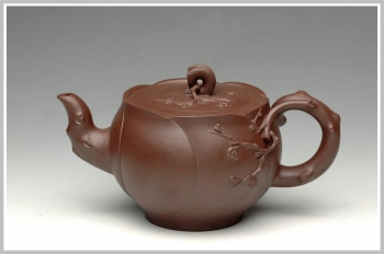 紫砂壶图片:徐建芳精品花货之含苞 - 宜兴紫砂壶网
