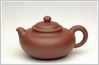 紫砂壶图片:全手精品圆趣 - 宜兴紫砂壶网