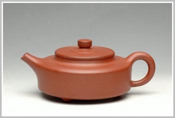 紫砂壶图片:老味 周盘 - 宜兴紫砂壶网