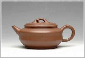 紫砂壶图片:竹风之韵 小雅竹 - 宜兴紫砂壶网