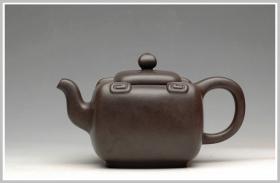 紫砂壶图片:合璧如意  2006年被中南海紫光阁收藏 - 宜兴紫砂壶网