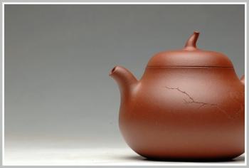 紫砂壶图片:辛卯年力作  枯枝鸟 全手玉成窑石匏 - 宜兴紫砂壶网