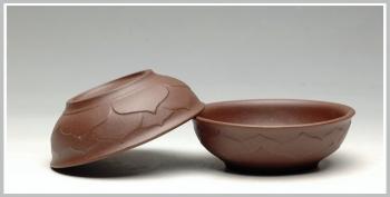 紫砂壶图片:莲花杯 普洱品茗 - 宜兴紫砂壶网