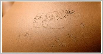 紫砂壶图片:鸳鸯戏水  段泥全手一捺底玉成窑石匏 饱满可爱 - 宜兴紫砂壶网