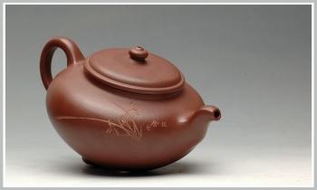 紫砂壶图片:气韵灵动 秋韵 - 宜兴紫砂壶网