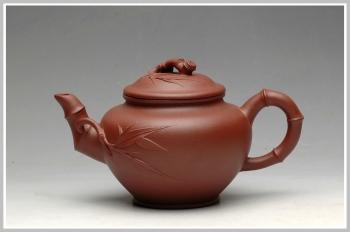 紫砂壶图片:清风 笑樱竹节 - 宜兴紫砂壶网