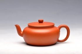 紫砂壶图片:风姿卓越 全手实用茶器之平盖莲子 - 宜兴紫砂壶网