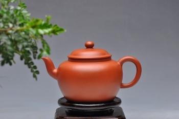 紫砂壶图片:简洁实用 敦实闲味 老朱泥 全手舒和 - 宜兴紫砂壶网