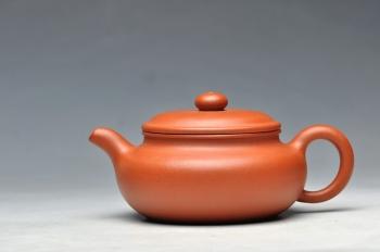 紫砂壶图片:型正味足 经典传统 小仿古 - 宜兴紫砂壶网