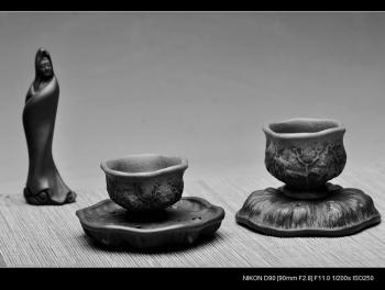 紫砂壶图片:莲子杯垫 养壶垫 壶托 香插 盖托 摆件茶宠 - 宜兴紫砂壶网