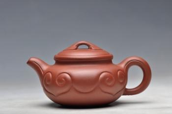 紫砂壶图片:尤其适合这个寒冷的季节~ 小仿古如意 优质底料 - 宜兴紫砂壶网