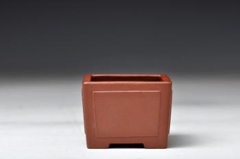 紫砂壶图片:全手开光小盆 形体耐品 好玩微型花盆 - 宜兴紫砂壶网