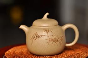 紫砂壶图片:传统经典 景舟茄段 - 宜兴紫砂壶网