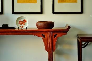 紫砂壶图片:青铜文化之文房水洗 全手工 古朴大方 - 宜兴紫砂壶网