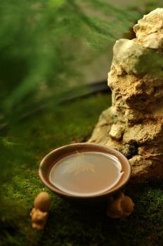 紫砂壶图片:石丁秋韵杯  - 宜兴紫砂壶网
