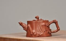 紫砂壶图片:经典 木棉桩 刚劲硬朗 - 宜兴紫砂壶网