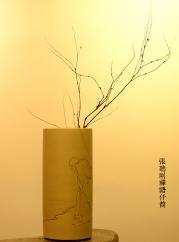 紫砂壶图片:禅语~ 素雅装点 扦筒 刀法精到 - 宜兴紫砂壶网