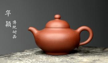 紫砂壶图片:精工实力派 华颖 传统耐品 - 宜兴紫砂壶网