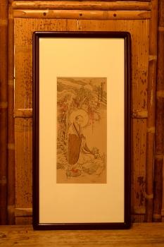 紫砂壶图片:谭华斌精心装饰 罗汉壁画 送礼自珍佳作 - 宜兴紫砂壶网