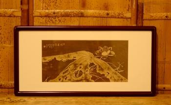 紫砂壶图片:谭华斌精心装饰 壁画 韵味十足 - 宜兴紫砂壶网