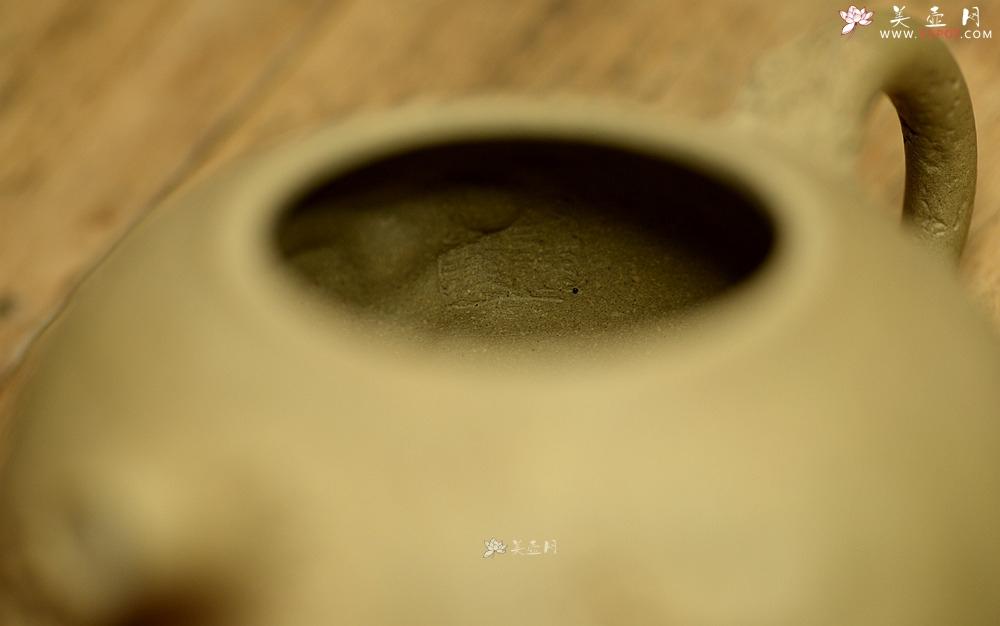 紫砂壶图片:肌理丰富 拙味~ 全手薄胎龚春 ~沧桑质感 - 宜兴紫砂壶网