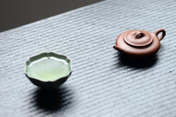 紫砂壶图片:超级实用 绿茶必备o(∩_∩)o  玉扁 优质朱泥 - 宜兴紫砂壶网