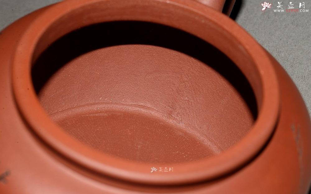 紫砂壶图片:高路装饰 詹黎明全手作品 线轮 炮管直流 杀茶利器  - 宜兴紫砂壶网