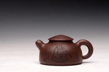 紫砂壶图片:品饮之乐 造型可人~ 悟道小壶 - 宜兴紫砂壶网