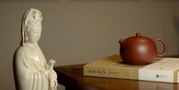 紫砂壶图片:深情连连 敦厚可人 有性格的全手嵌盖如意西施o(∩_∩)o  - 宜兴紫砂壶网