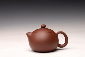紫砂壶图片:传统实用精品 西施 灵气可人 - 宜兴紫砂壶网