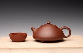紫砂壶图片:柔中带刚 西施瓢 - 宜兴紫砂壶网
