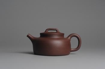 紫砂壶图片:美壶双节特惠 全手工平盖井栏 - 宜兴紫砂壶网
