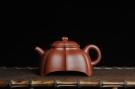 紫砂壶图片:优质大红袍朱泥玉菱壶 端庄秀雅 做工精致 - 宜兴紫砂壶网