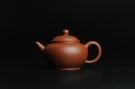 紫砂壶图片:小煤窑朱泥 全手工水平壶 端庄文气 - 宜兴紫砂壶网
