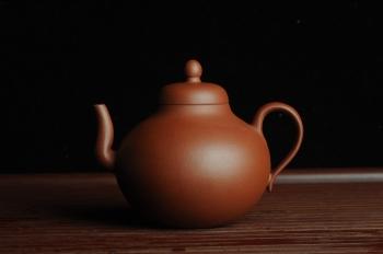 紫砂壶图片:美壶特惠 老清水泥思亭 小清新 茶人醉爱 - 宜兴紫砂壶网