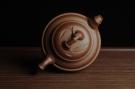 紫砂壶图片:美壶特惠 优质紫泥双线竹鼓 - 宜兴紫砂壶网