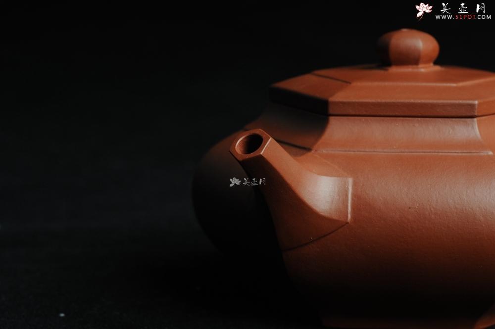 紫砂壶图片:用心之作 优质朱泥全手工大彬六方 工料超好 - 宜兴紫砂壶网
