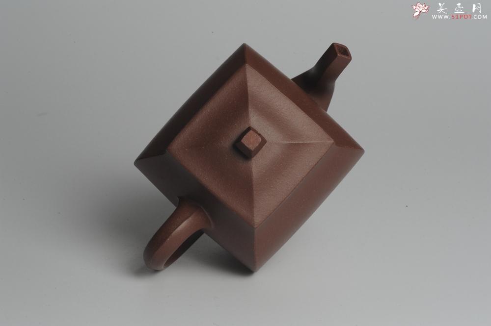 紫砂壶图片:美壶特惠 全手工镶接四方吉金壶 泥料超好 茶人醉爱 - 宜兴紫砂壶网
