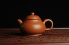 紫砂壶图片:优质赵庄朱泥 全手工潘壶 端庄秀雅 - 宜兴紫砂壶网